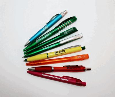 Логотипы на ручках